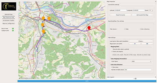 Screen shot Pipeline Monitoring