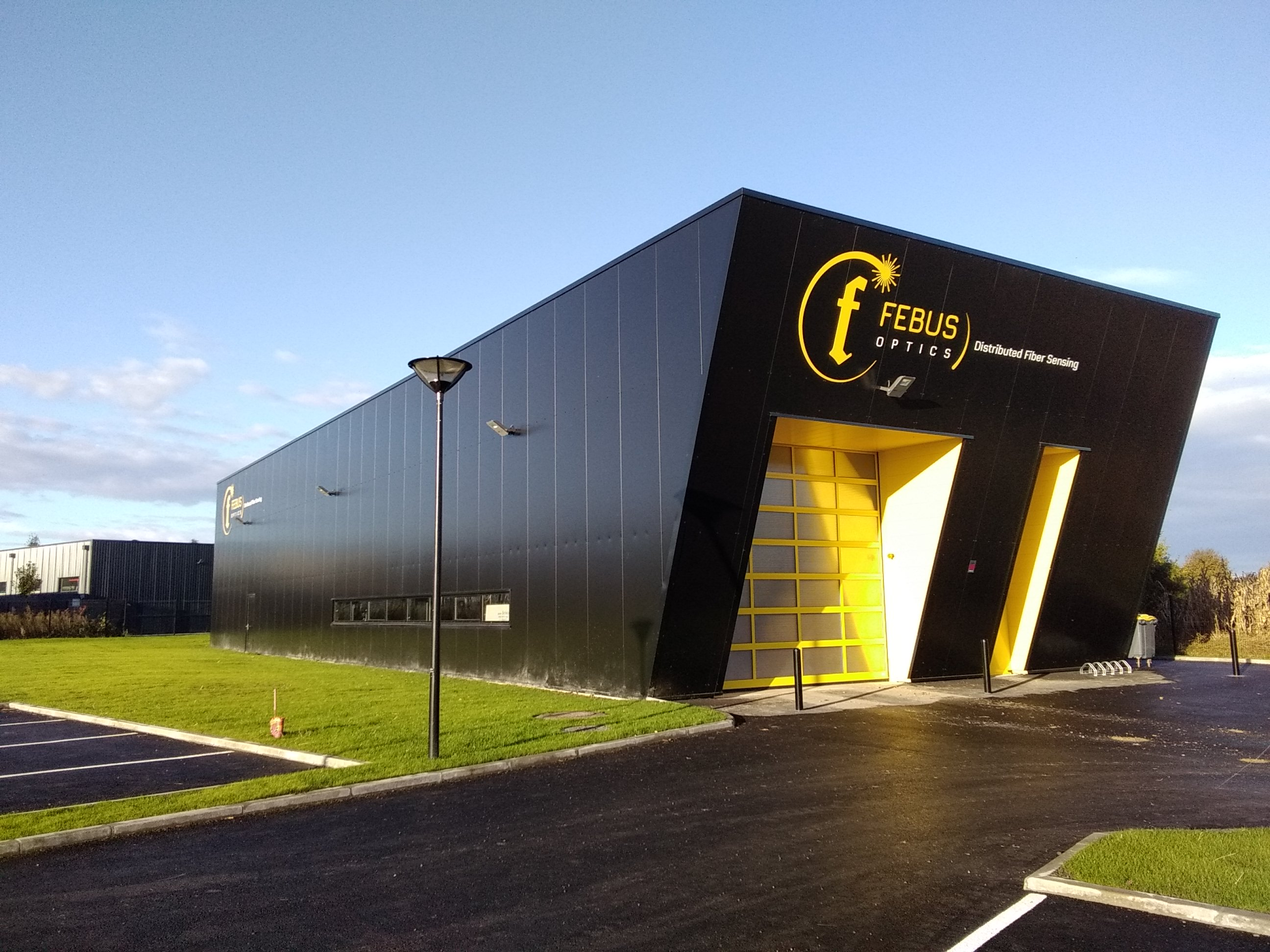 FEBUS OPTICS technical team is based in Pau and Strasbourg (France)