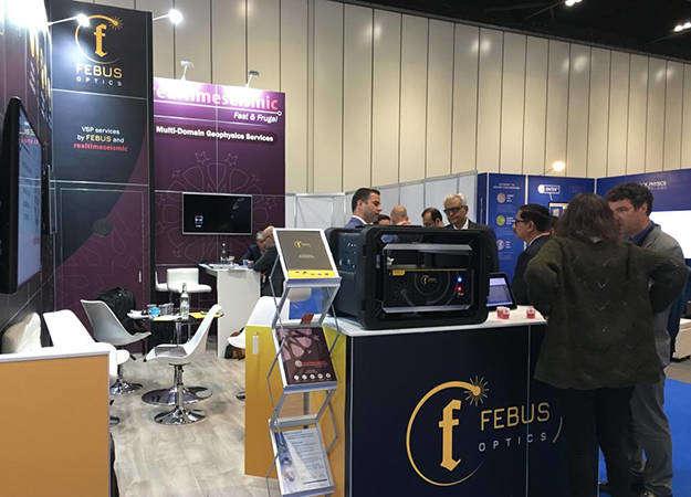 Photo de la news FEBUS OPTICS at EAGE 2019 - London (UK)