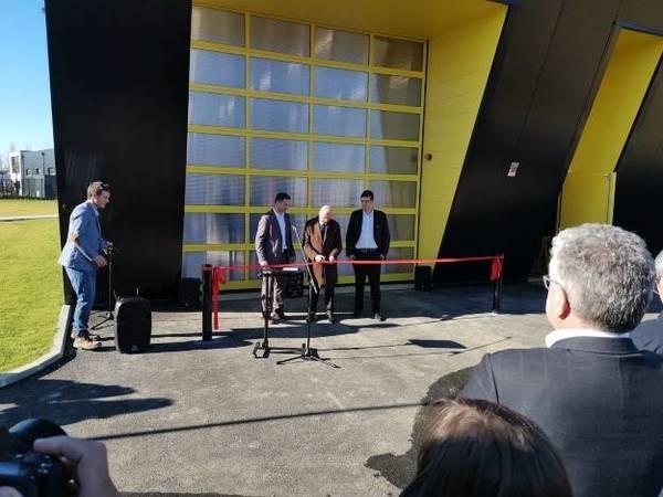 Photo de l'actualité Test Center Sophie Germain official opening