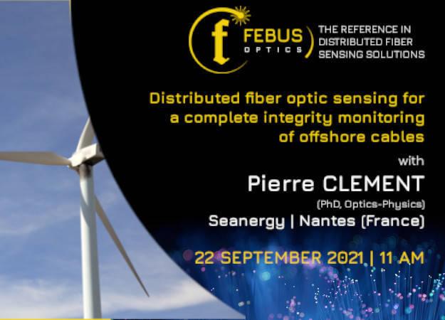 Photo de la news FEBUS Optics' Pierre CLÉMENT at Seanergy