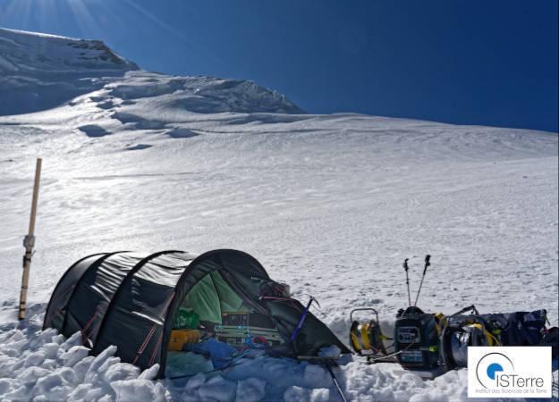 Photo de la news FEBUS Optics' A1 on the Mont Blanc (ANR MONIDAS)
