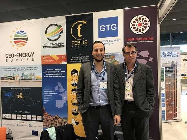 Photo de la news Febus Optics at European Geothermal Congress
