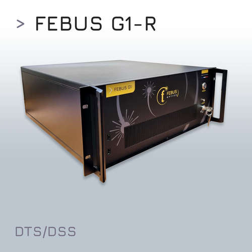 FEBUS G1-R : Distributed Temperature and Strain Sensing (DTSS) system