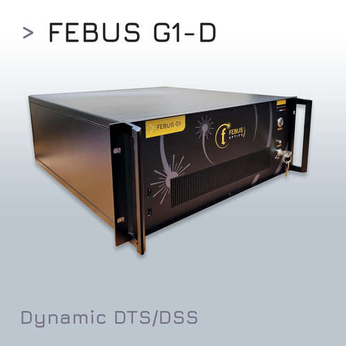 FEBUS G1-D : Distributed Dynamic Strain and Temperature Sensing (DDSTS) system