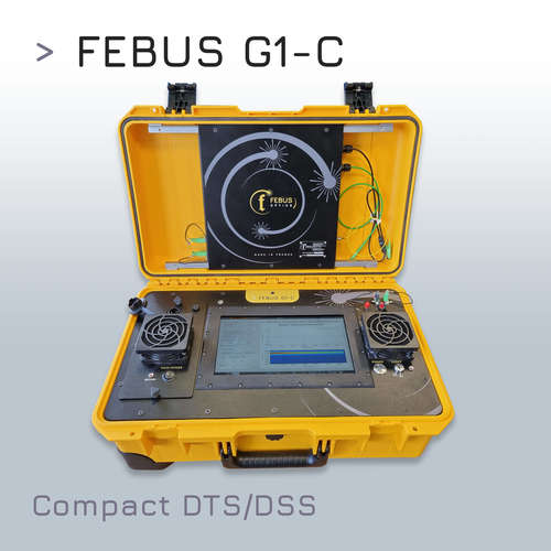 FEBUS G1-C : Distributed Strain and Temperature Sensing (DSTS) System Compact, Autonomous, designed for Field Operation